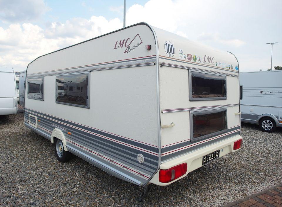 Wohnwagen Dusche Warmwasser : Wohnwagen Dusche Warmwasser : LMC Luxus 560 MDK als Pickup Camper in
