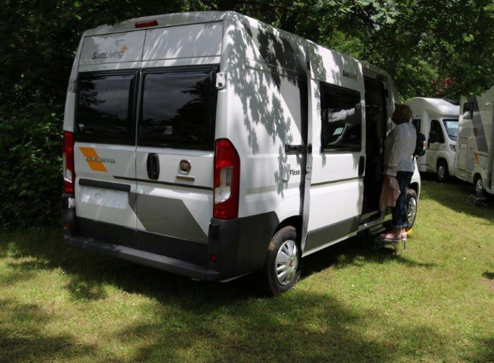 Sun Living Flexo Flexo Sp Als Kastenwagen In Mertesheim