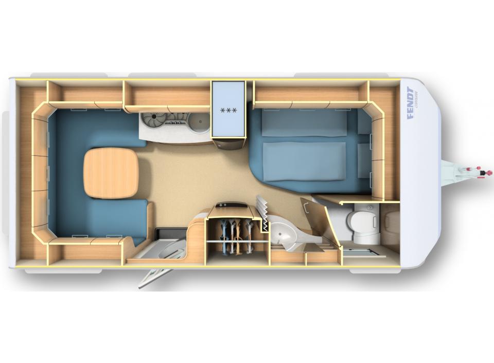 fendt saphir 465 sfb als pickup camper in l rrach bei. Black Bedroom Furniture Sets. Home Design Ideas