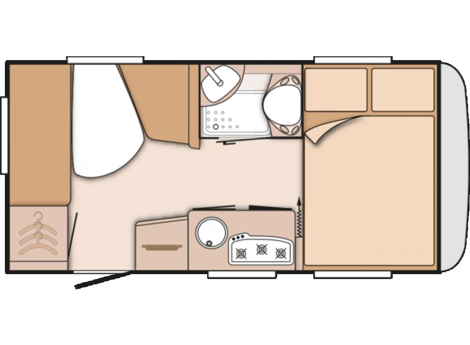 knaus s dwind 420 qd silver selection als pickup camper in. Black Bedroom Furniture Sets. Home Design Ideas