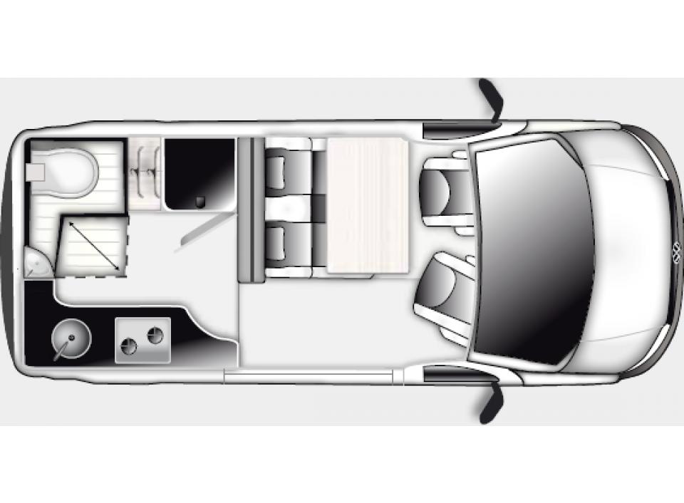 westfalia club joker city als kastenwagen in bad urach. Black Bedroom Furniture Sets. Home Design Ideas