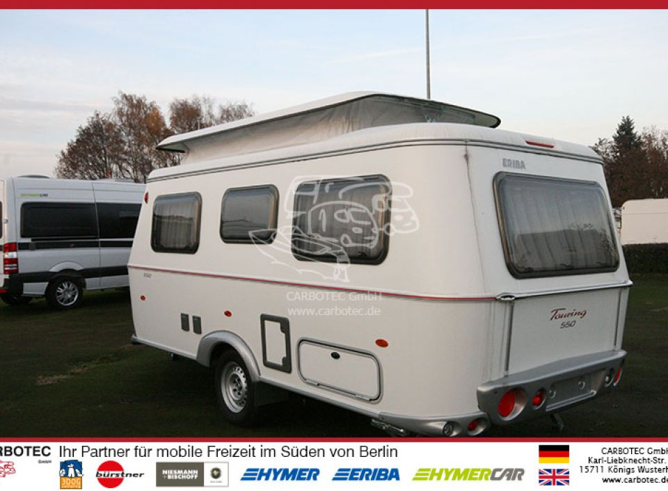 hymer eriba touring troll 550 als pickup camper in k nigs. Black Bedroom Furniture Sets. Home Design Ideas