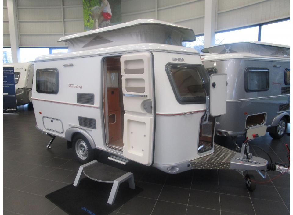 hymer eriba touring triton 420 als pickup camper in bad. Black Bedroom Furniture Sets. Home Design Ideas