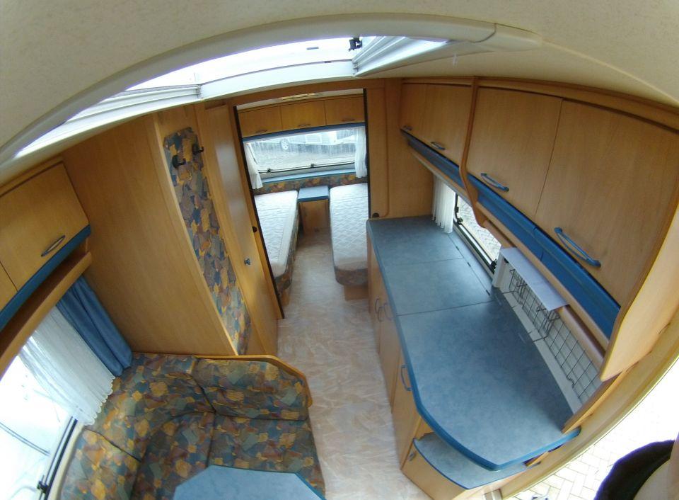 hobby de luxe 495 ul als pickup camper in blomberg bei. Black Bedroom Furniture Sets. Home Design Ideas