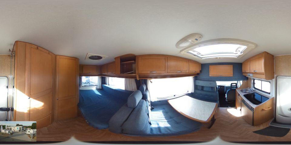 ahorn camp 590 t als teilintegrierter in blomberg bei. Black Bedroom Furniture Sets. Home Design Ideas