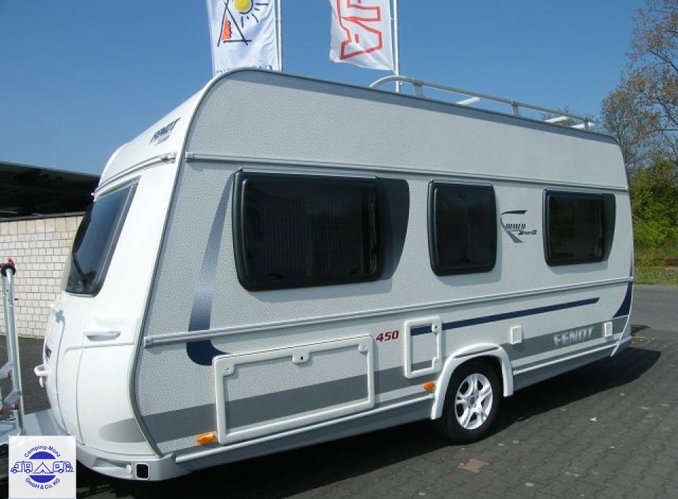 Fendt Bianco Sportivo 450 SQB als Pickup-Camper in ...
