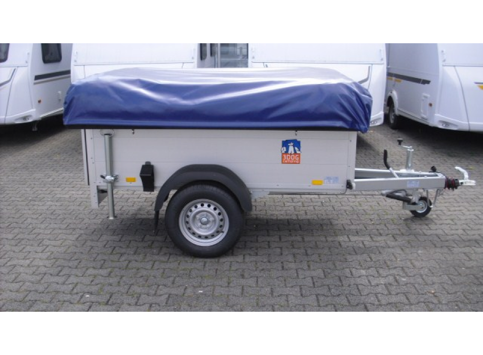 3dog camping traildog zeltanh nger gebremst als pickup. Black Bedroom Furniture Sets. Home Design Ideas