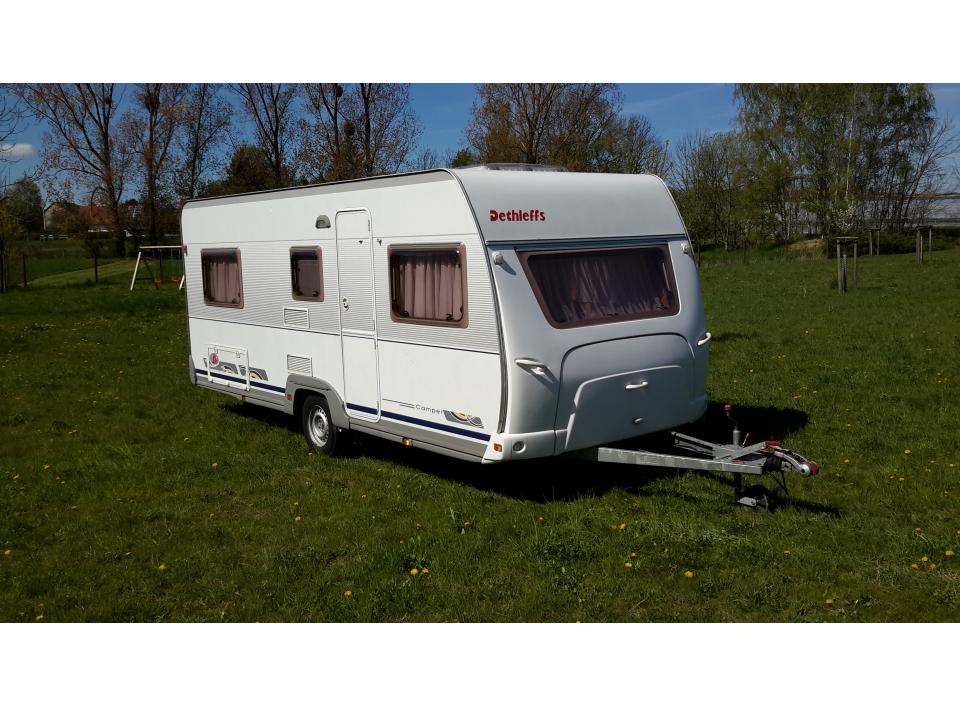 dethleffs camper 510 v als pickup camper bei. Black Bedroom Furniture Sets. Home Design Ideas