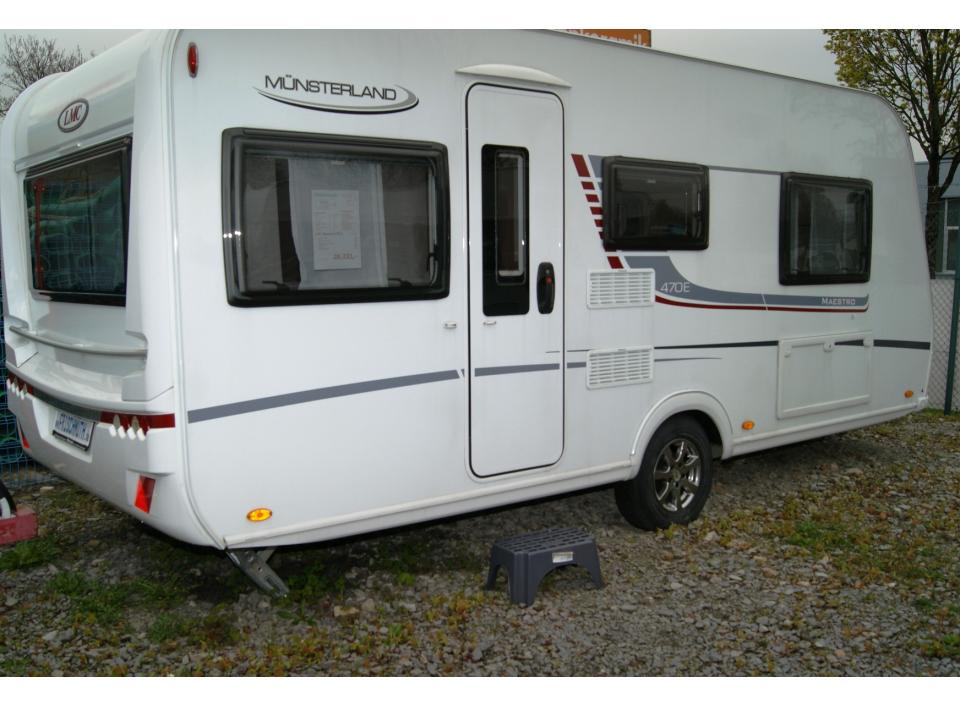 LMC Maestro 470 E als PickupCamper in Paderborn bei