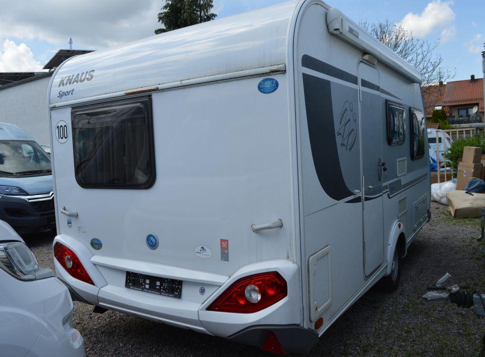 Knaus Sport 420 Qd Als Pickup Camper In Otterstadt Bei