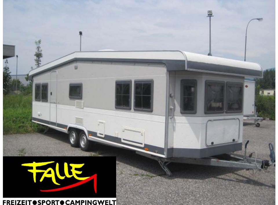hobby landhaus 750 ft als pickup camper in villach bei. Black Bedroom Furniture Sets. Home Design Ideas