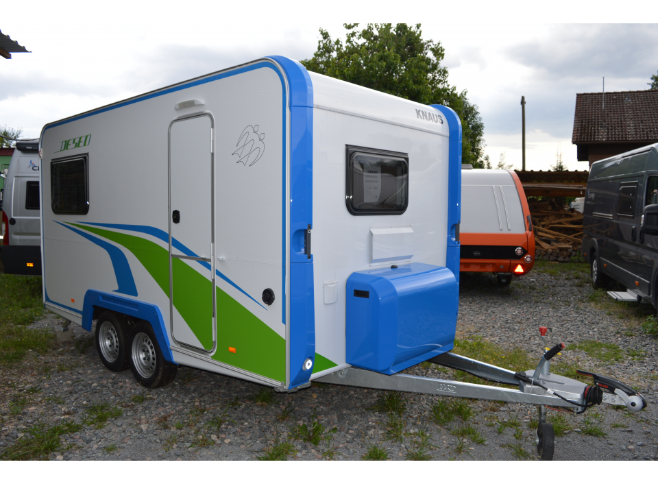 Knaus Deseo Transport Plus als Pickup-Camper in