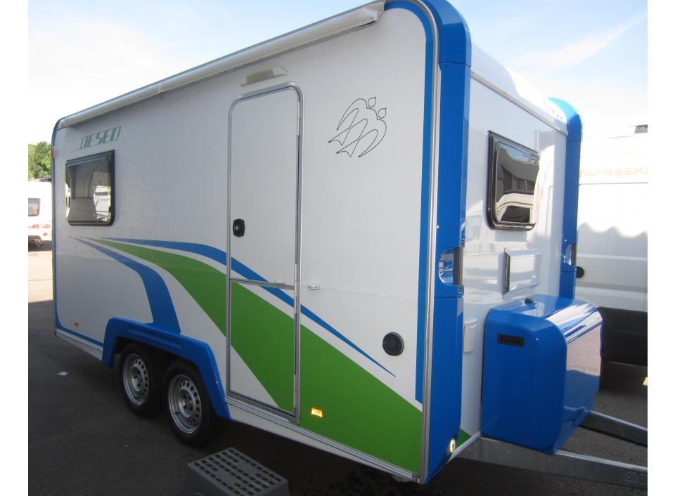 Knaus Deseo Transport Plus als Pickup-Camper in Riederich