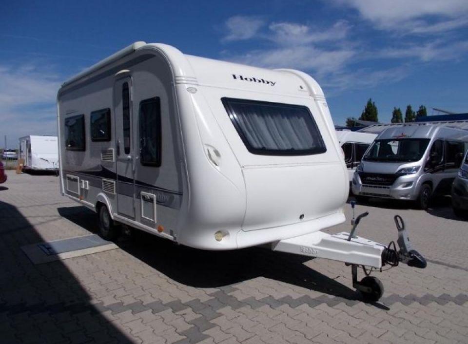 hobby excellent 460 lu als pickup camper in wurmannsquick. Black Bedroom Furniture Sets. Home Design Ideas