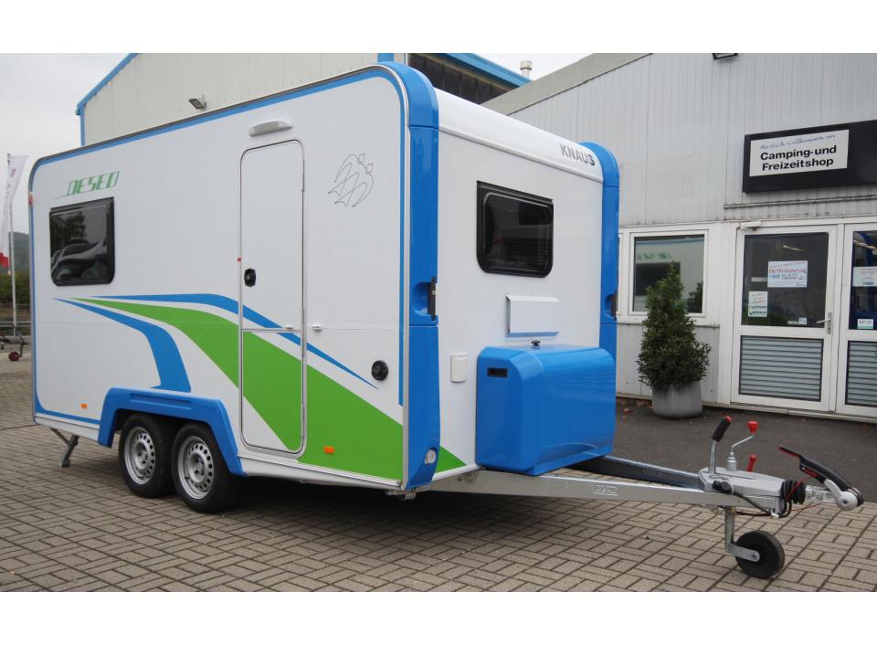 Knaus Deseo Transport Plus als Pickup-Camper in Eichenzell