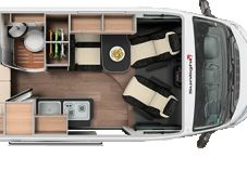 Sunlight Camper Van Cliff 600 Euro 6 Dtemp