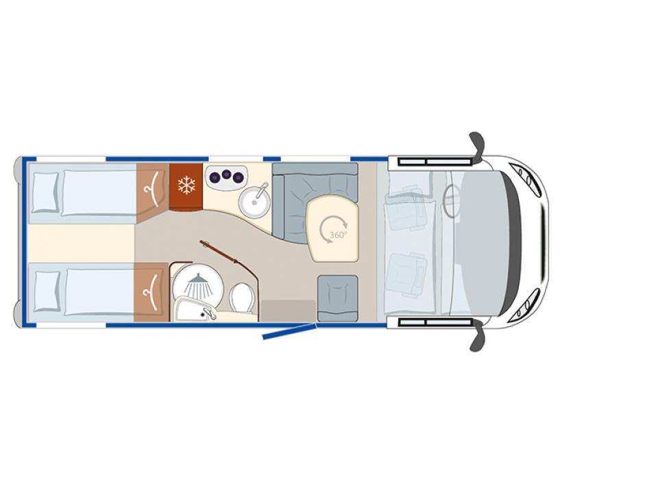 Eura Mobil Profila Rs Prs 695 Eb Als Teilintegrierter In