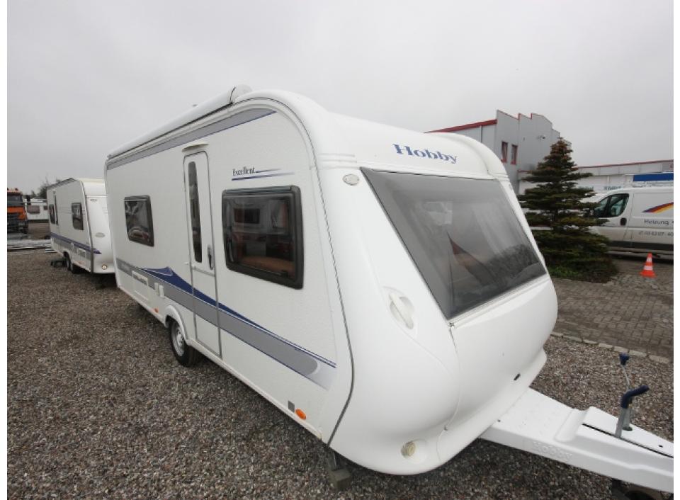 Hobby Excellent 540 Wlu Als Pickup Camper In Stralsund Bei