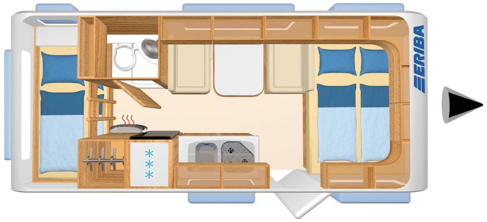 hymer eriba living 525 als pickup camper in lagesb ttel bei. Black Bedroom Furniture Sets. Home Design Ideas