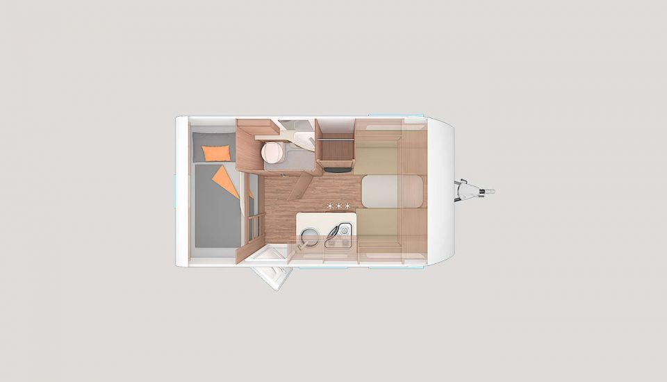 weinsberg caraone 400 lk als pickup camper in maintal bei. Black Bedroom Furniture Sets. Home Design Ideas