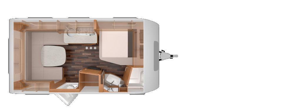 Knaus Sport 450 FU komfortable U-Sitzgruppe - Bild 2