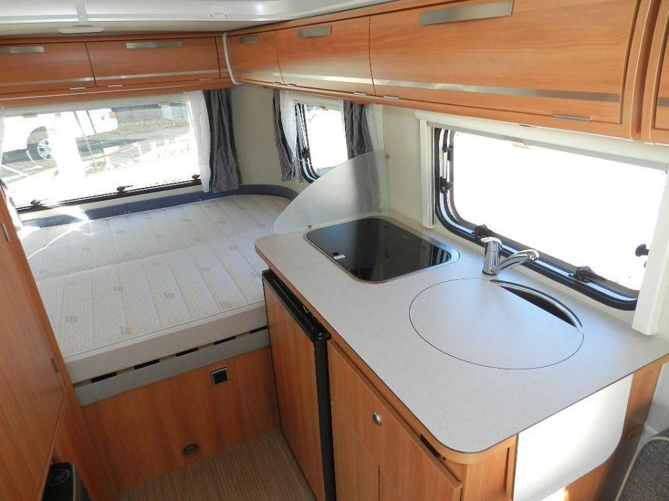hymer eriba touring triton 418 als pickup camper in affing. Black Bedroom Furniture Sets. Home Design Ideas