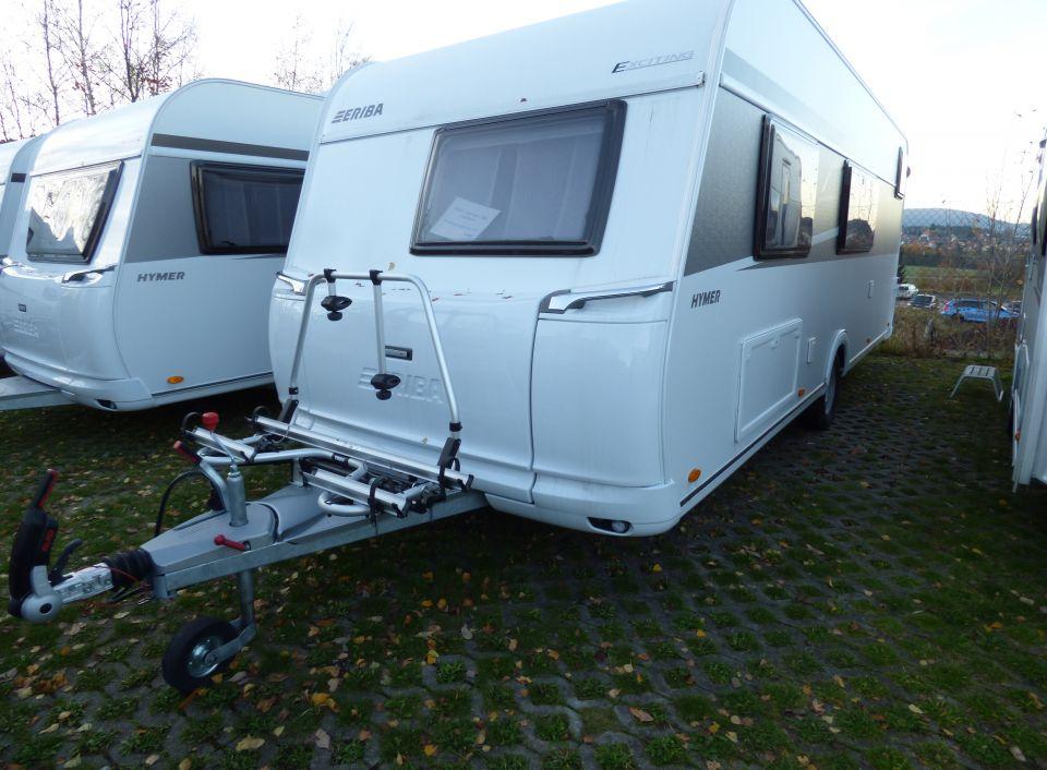 Wohnwagen Etagenbett Maße : Hymer eriba exciting 505 als pickup camper in geschwenda bei