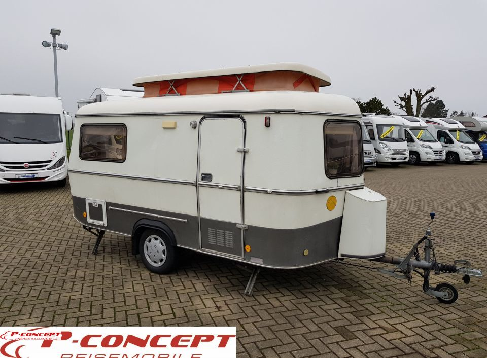 hymer eriba touring triton als pickup camper in. Black Bedroom Furniture Sets. Home Design Ideas
