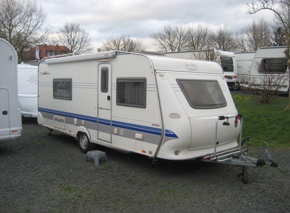 Hobby Prestige 540 Wlu Als Pickup Camper In Ederm Nde