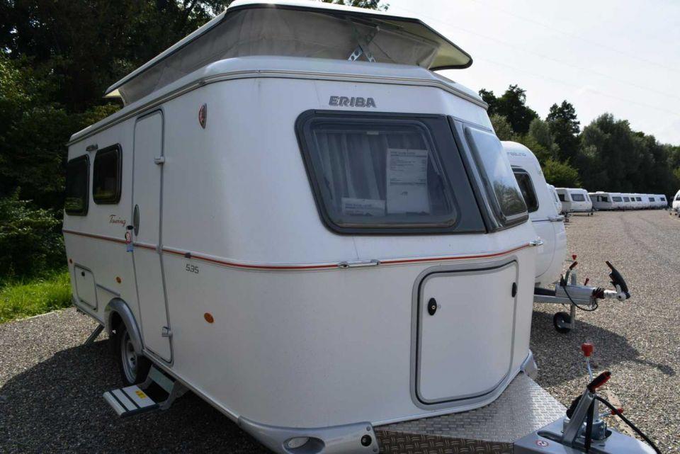 hymer eriba touring troll 535 als pickup camper in. Black Bedroom Furniture Sets. Home Design Ideas