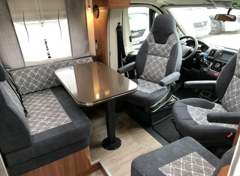 Hobby Optima De Luxe T65 Gq Als Teilintegrierter In