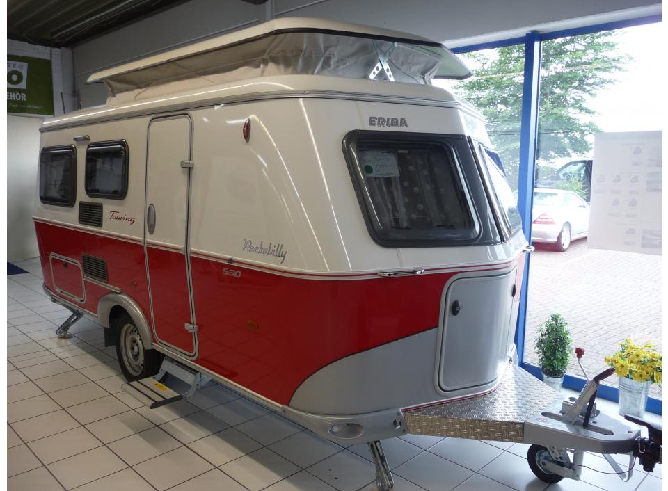 hymer eriba touring 530 rockabilly als pickup camper in. Black Bedroom Furniture Sets. Home Design Ideas