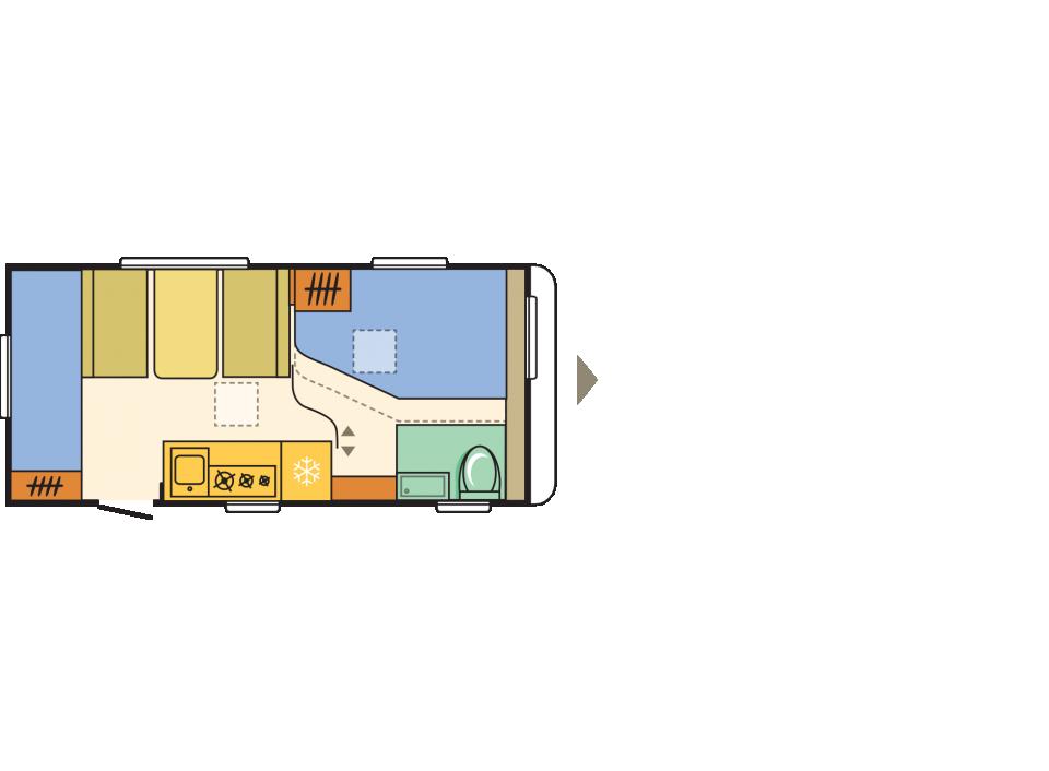 adria aviva 472 pk als pickup camper in offenburg bei. Black Bedroom Furniture Sets. Home Design Ideas