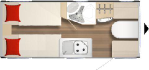 Bürstner Premio Life 480 TL 1360 KG/Midi-Heki/Truma Therme