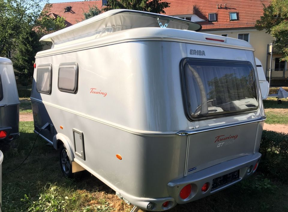 hymer eriba touring troll 550 als pickup camper in dresden. Black Bedroom Furniture Sets. Home Design Ideas