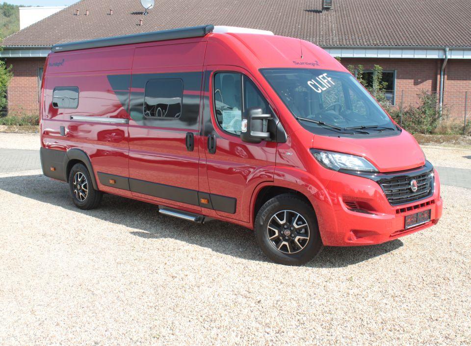 Sunlight Camper Van Cliff 640 Sondermodell als Kastenwagen in ...