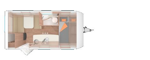 Weinsberg CaraOne 420 QD 1350 KG/Licht-&Advanced-Paket