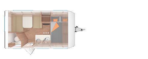 Weinsberg CaraTwo 390 QD 450Kg Zuladung/Smart-Paket uvm