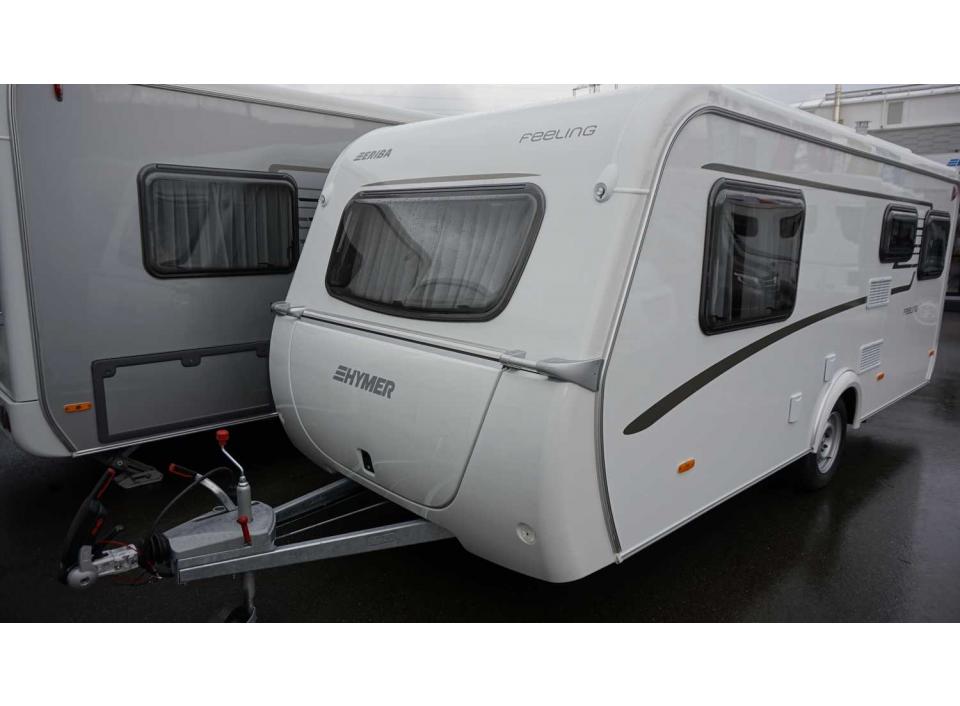 hymer eriba feeling 470 als pickup camper in sindelfingen. Black Bedroom Furniture Sets. Home Design Ideas
