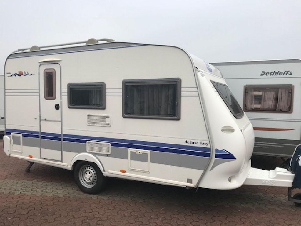 Spiksplinternieuw Hobby De Luxe Easy 400 SB als Pickup-Camper in Wesel bei caraworld.de ZJ-71