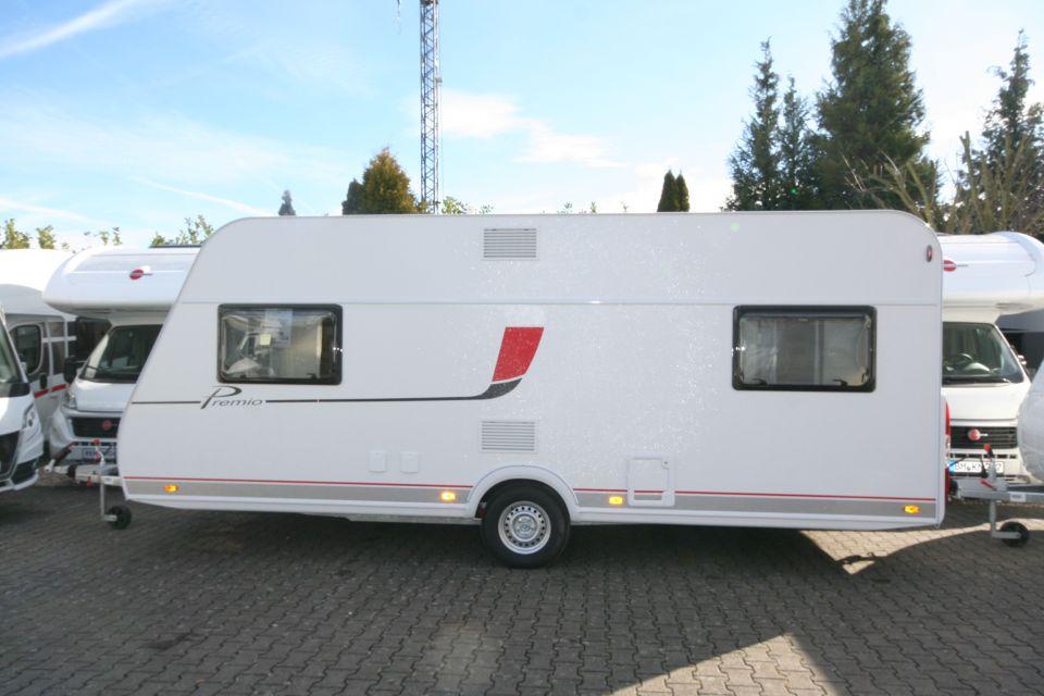 Bürstner Premio Plus 510 TK mit Hubbett & viel WohnRaum - Bild 1