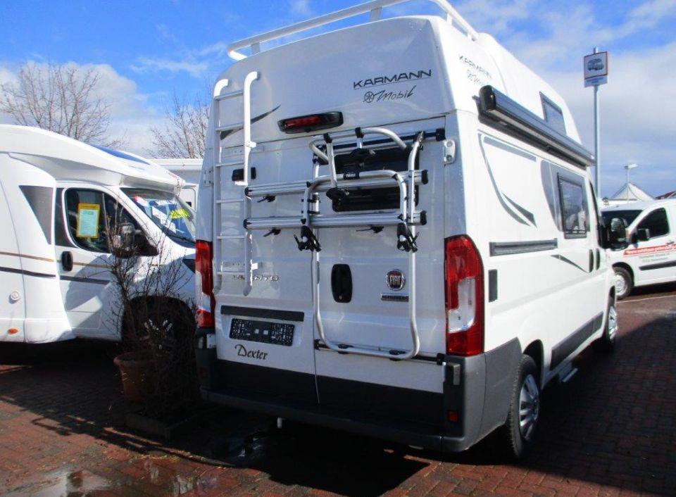 karmann mobil dexter 550 als kastenwagen in biebelnheim. Black Bedroom Furniture Sets. Home Design Ideas